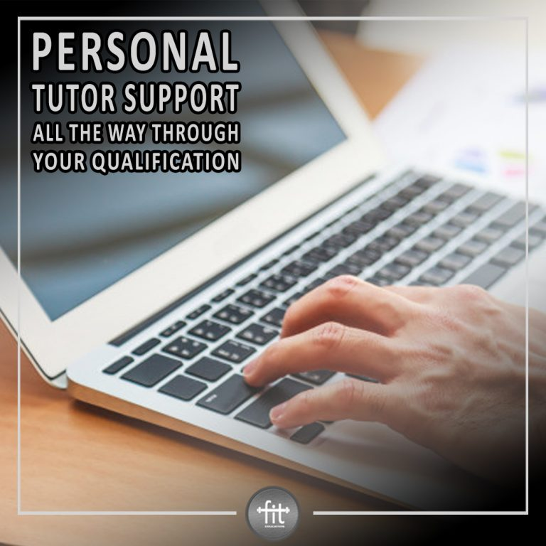 Personal tutor support throughout your qualification