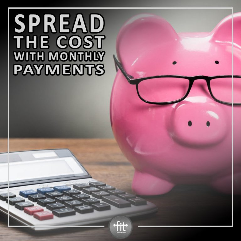 Spread the cost with monthly payments