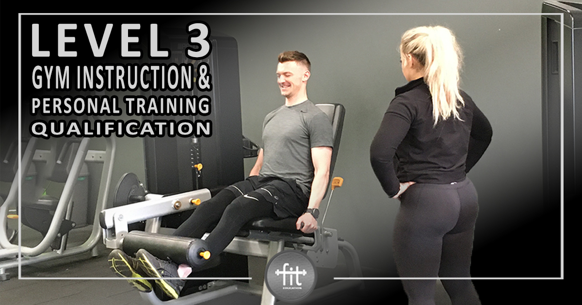 Gym instruction and personal training course