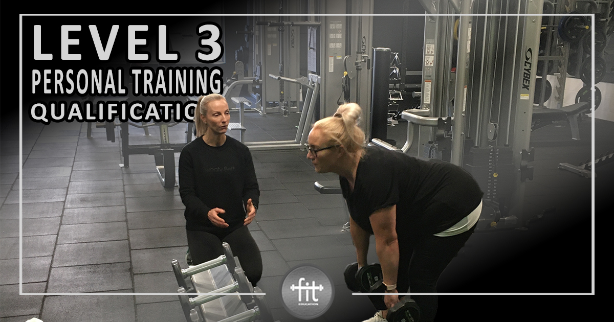 Personal training course